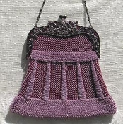 Geraldine Knitted Beaded Purse Pattern